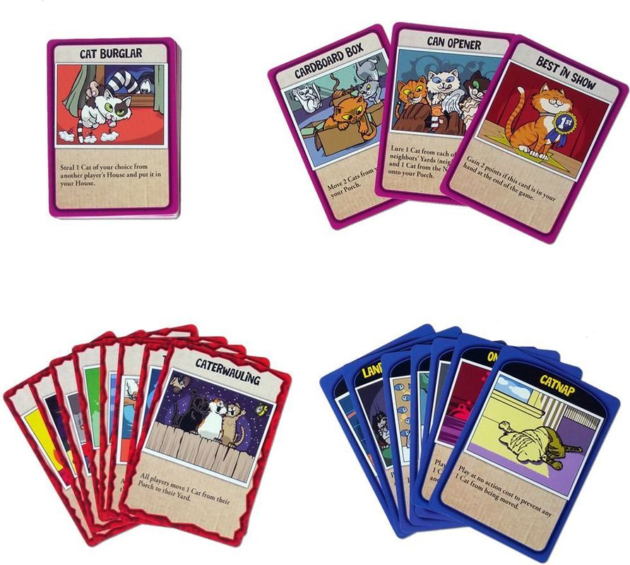 Here, Kitty, Kitty! cards