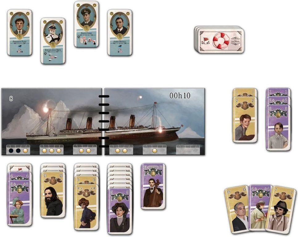 SOS Titanic components
