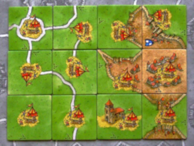 Carcassonne: Catapult tiles