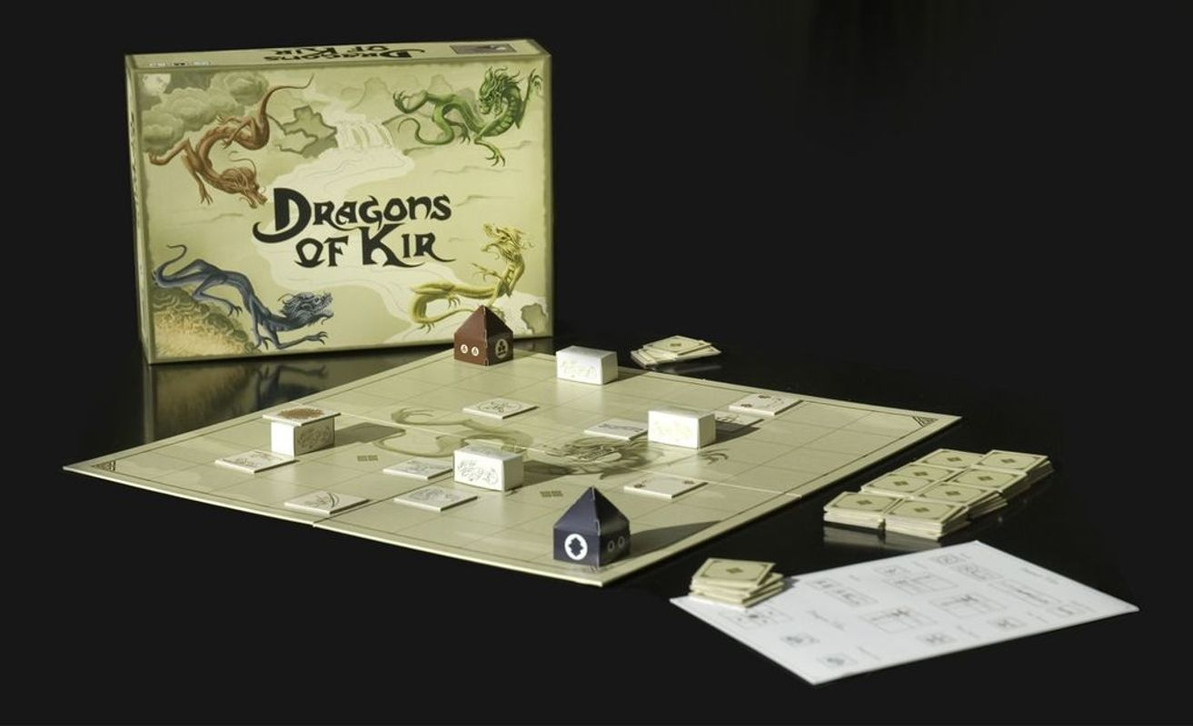 Dragons of Kir components