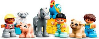 Barn, Tractor & Farm Animal Care minifigures