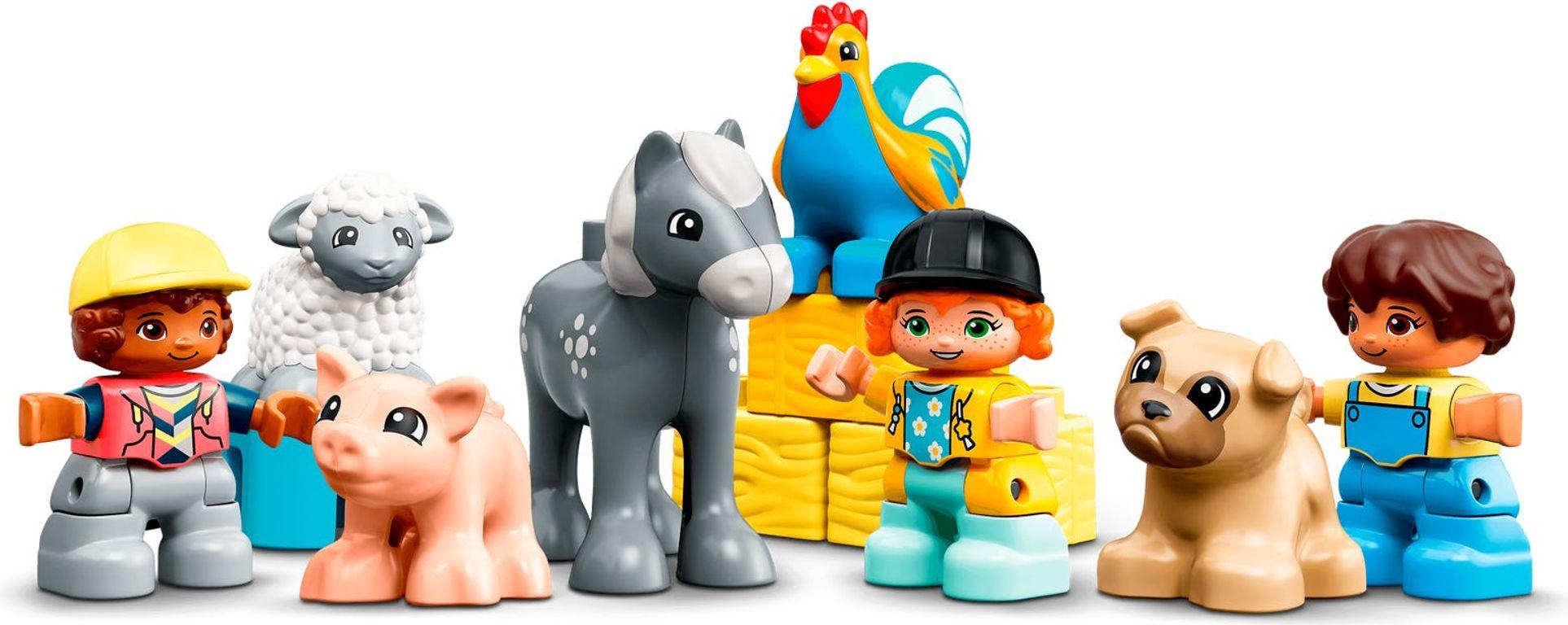 LEGO® DUPLO® Barn, Tractor & Farm Animal Care minifigures