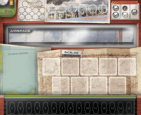The Manhattan Project 2: Minutes to Midnight game board