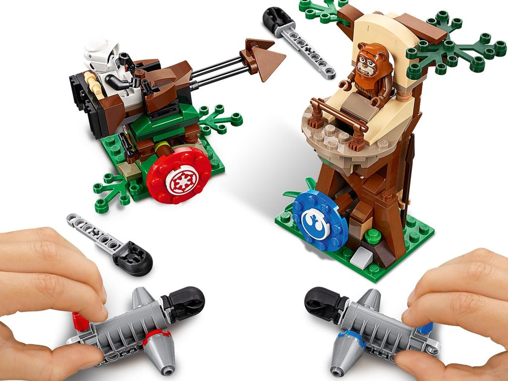 LEGO® Star Wars Action Battle Endor™ Assault gameplay