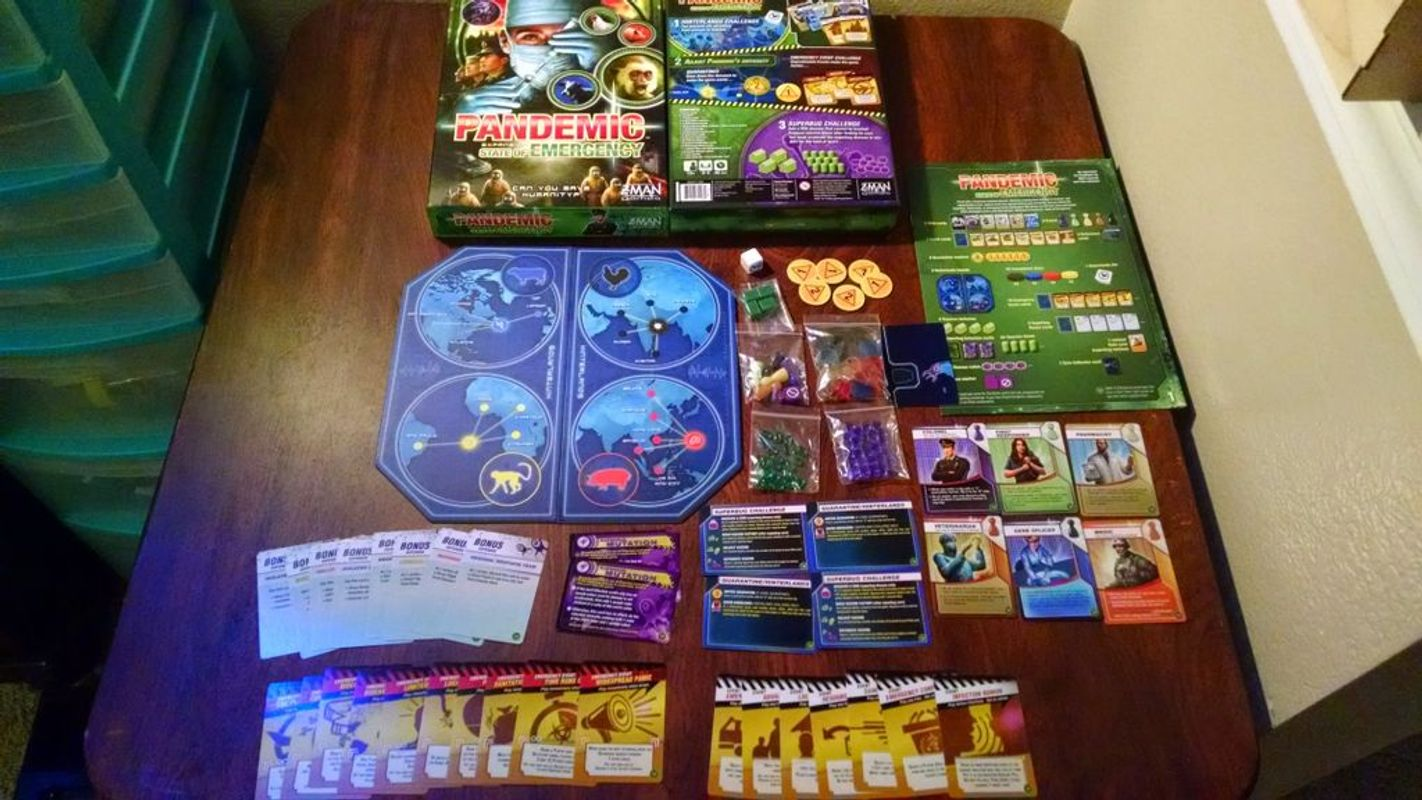 Pandemic: State of Emergency components