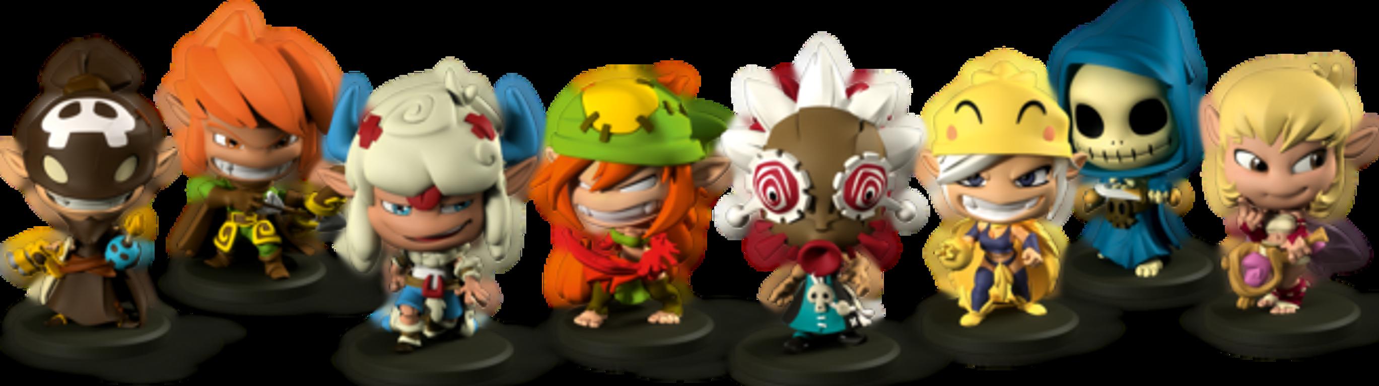 Krosmaster: Arena miniatures