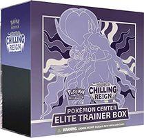Pokémon TCG: Sword & Shield-Chilling Reign Elite Trainer Box (Shadow Rider Calyrex)