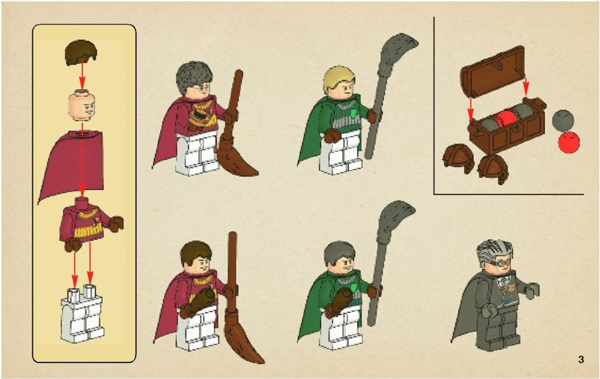 LEGO® Harry Potter™ Quidditch Match manual