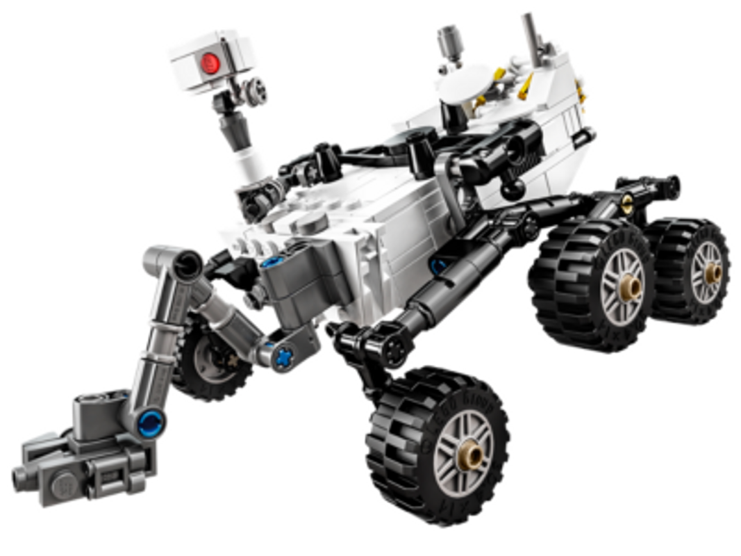 Curiosity Rover components