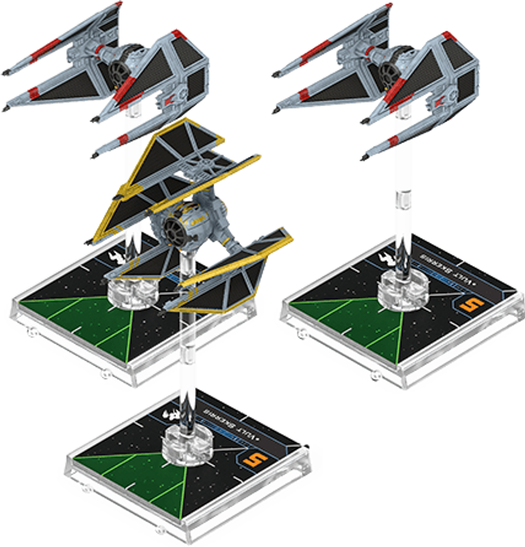 Star Wars: X-Wing (Second Edition) – Skystrike Academy Squadron Pack miniatures