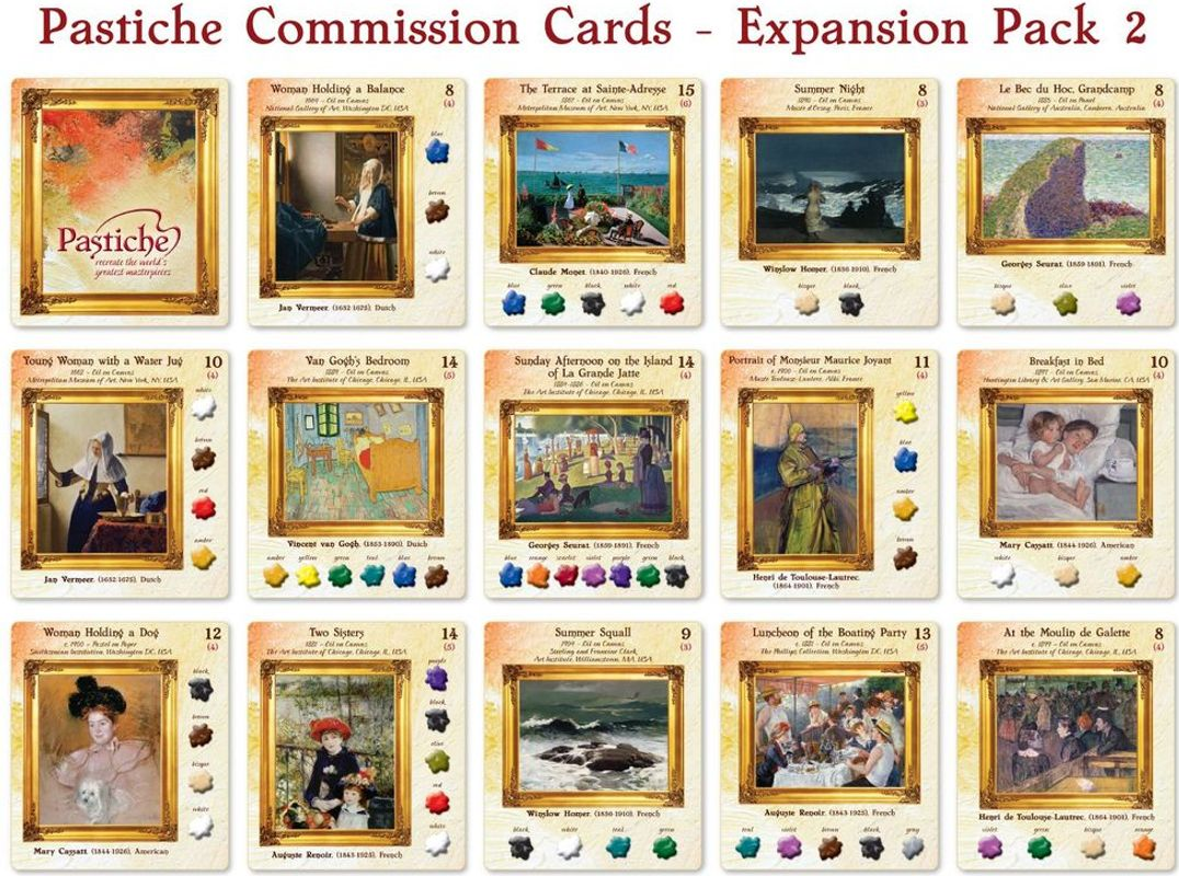 Pastiche: Expansion Pack #2 cards