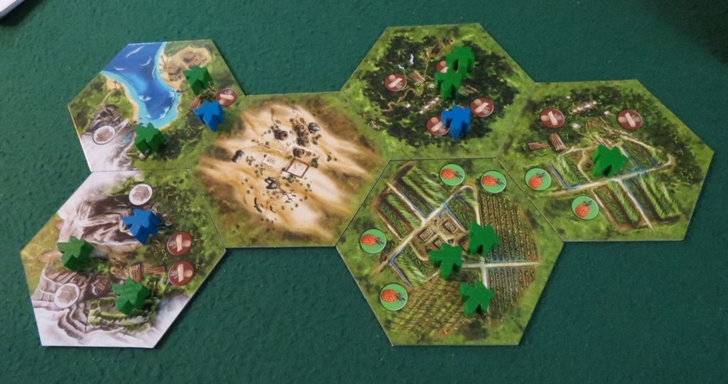 Archipelago: Solo Expansion gameplay