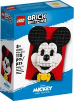 LEGO® Brick Sketches™ Mickey Mouse