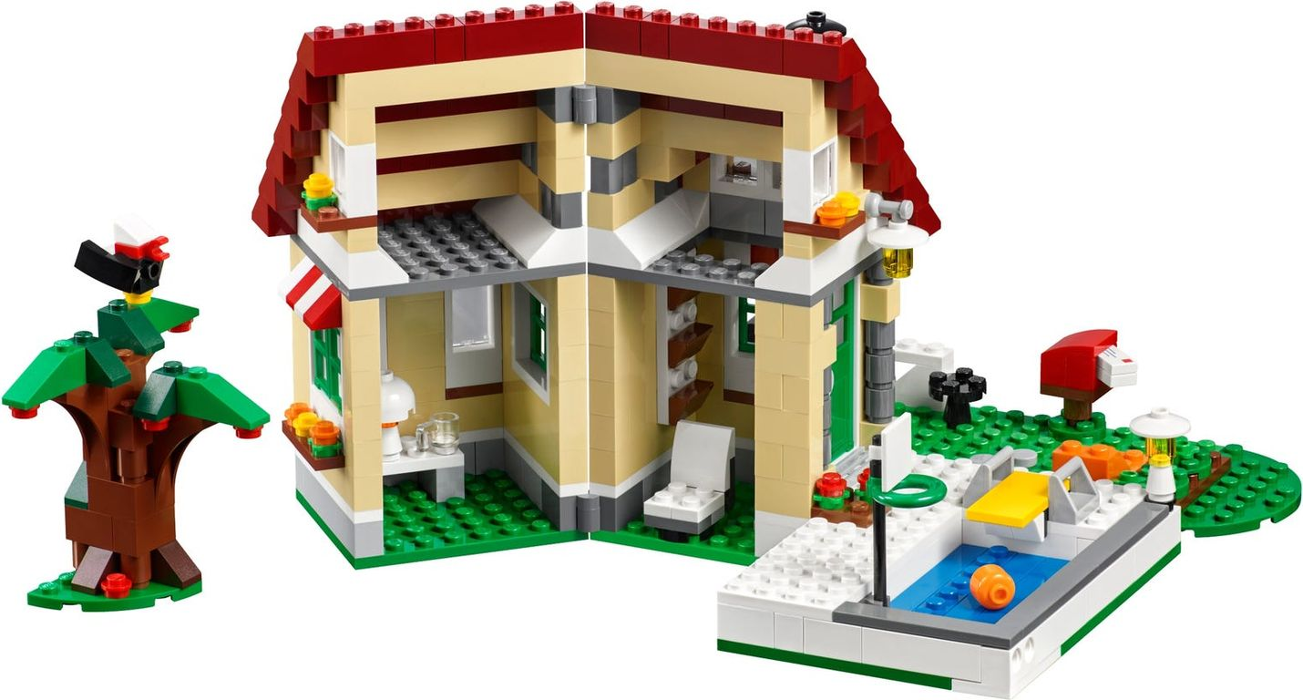 LEGO® Creator Changing Seasons interior