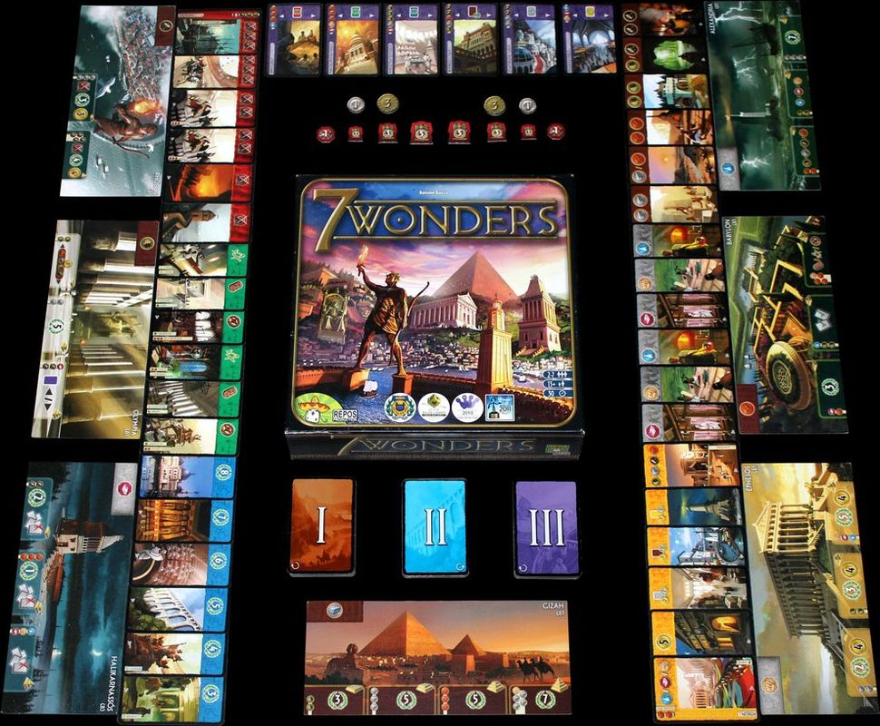 7 Wonders gameplay