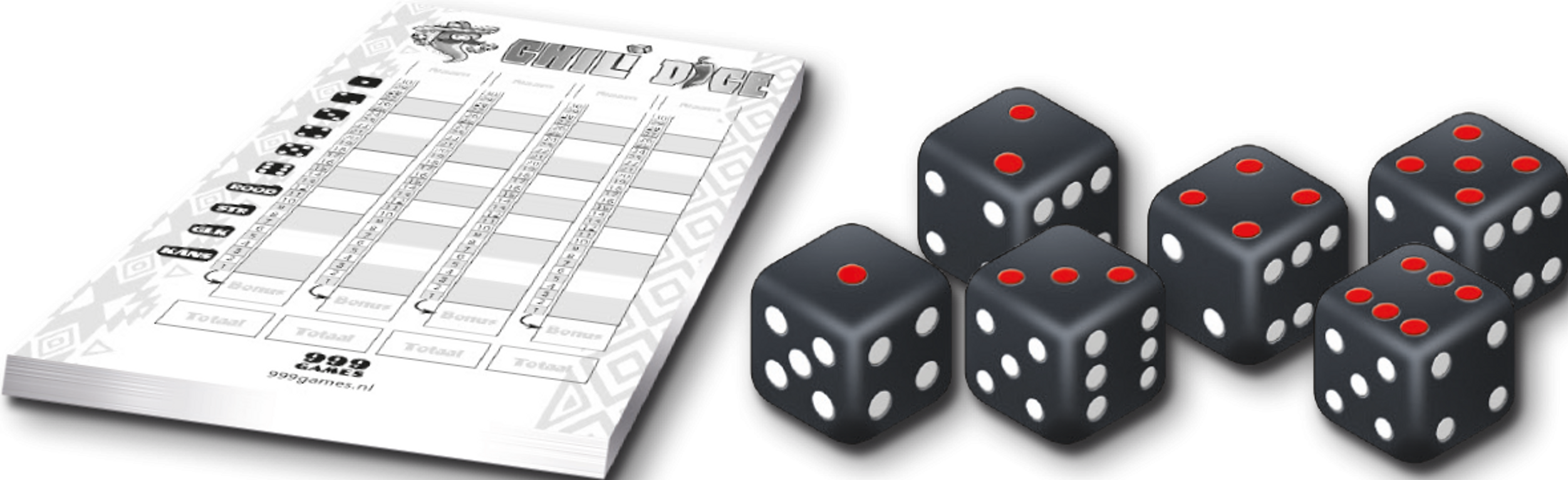 Spicy Dice components