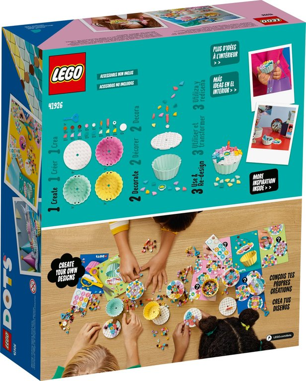 LEGO® DOTS Creative Party Kit back of the box