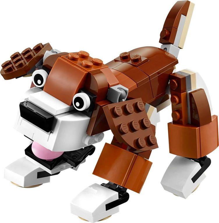 LEGO® Creator Park Animals components