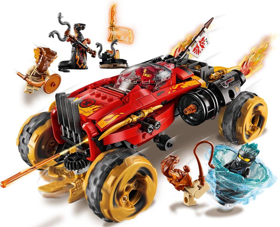 LEGO® Ninjago Katana 4x4 gameplay