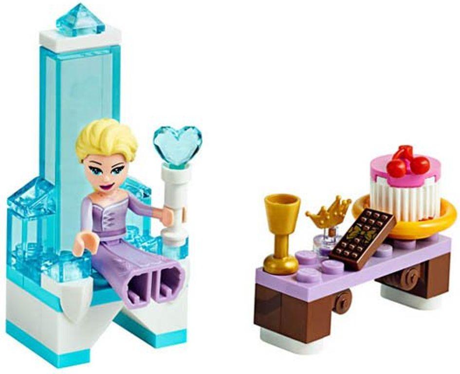 Elsa's Winter Throne components