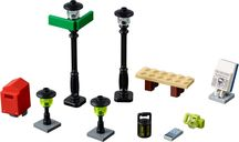 LEGO® Xtra Streetlamps components