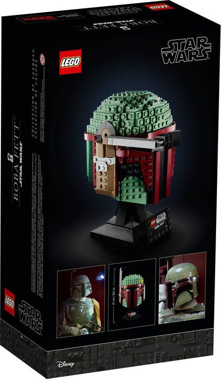 LEGO® Star Wars Boba Fett™ Helmet back of the box