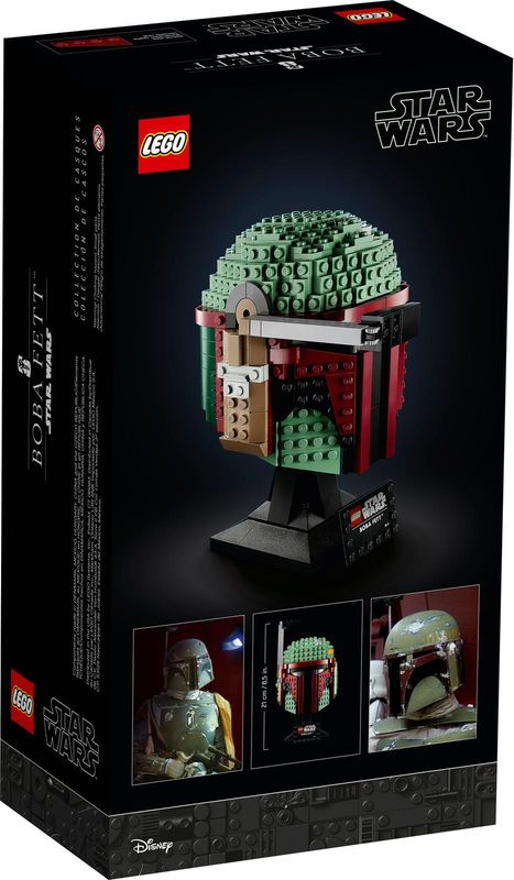 LEGO® Star Wars Boba Fett™ Helmet back of the box
