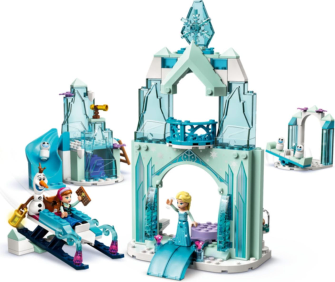 LEGO® Disney Anna and Elsa's Frozen Wonderland gameplay