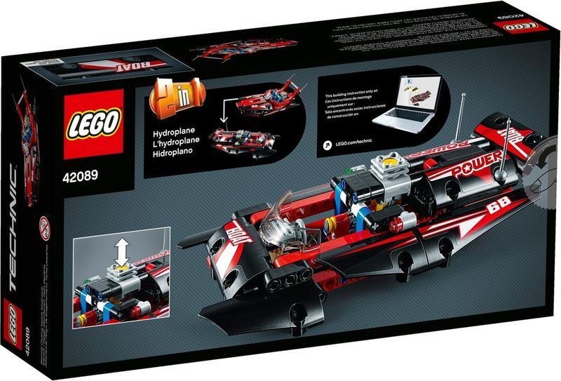 LEGO® Technic Power Boat back of the box