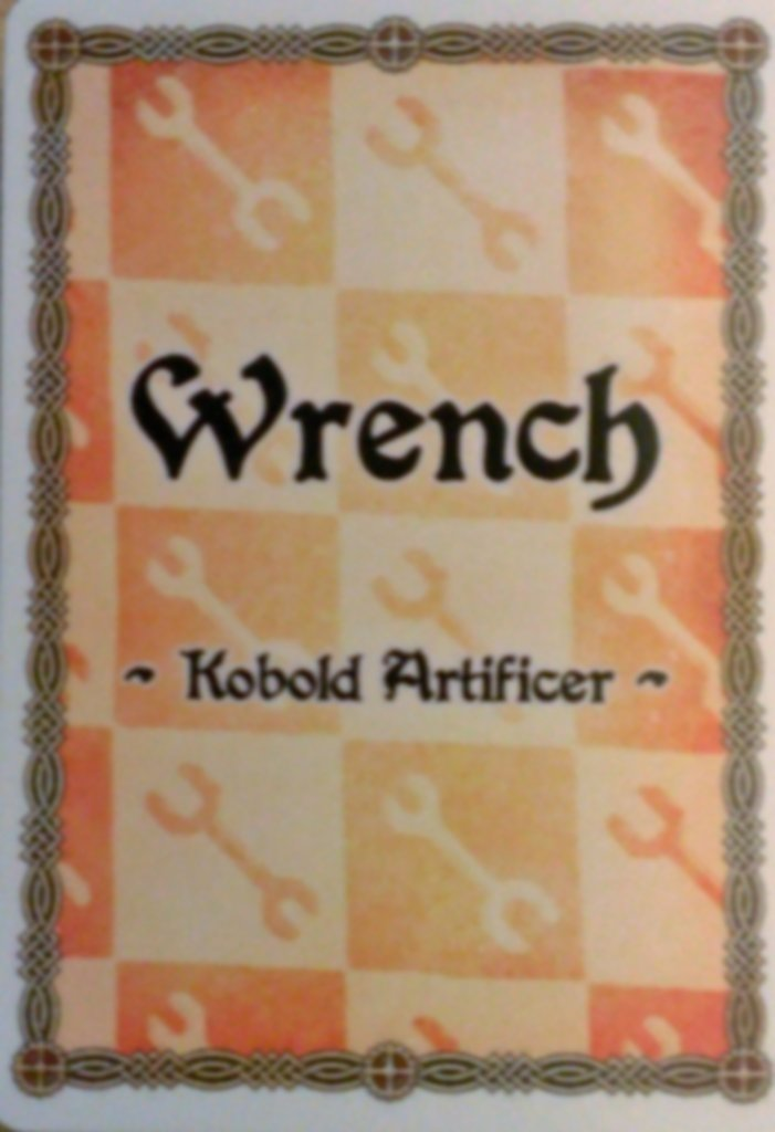 The Red Dragon Inn: Allies - Wrench cards