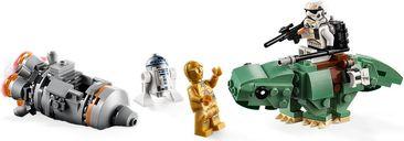 LEGO® Star Wars Escape Pod vs. Dewback™ Microfighters gameplay