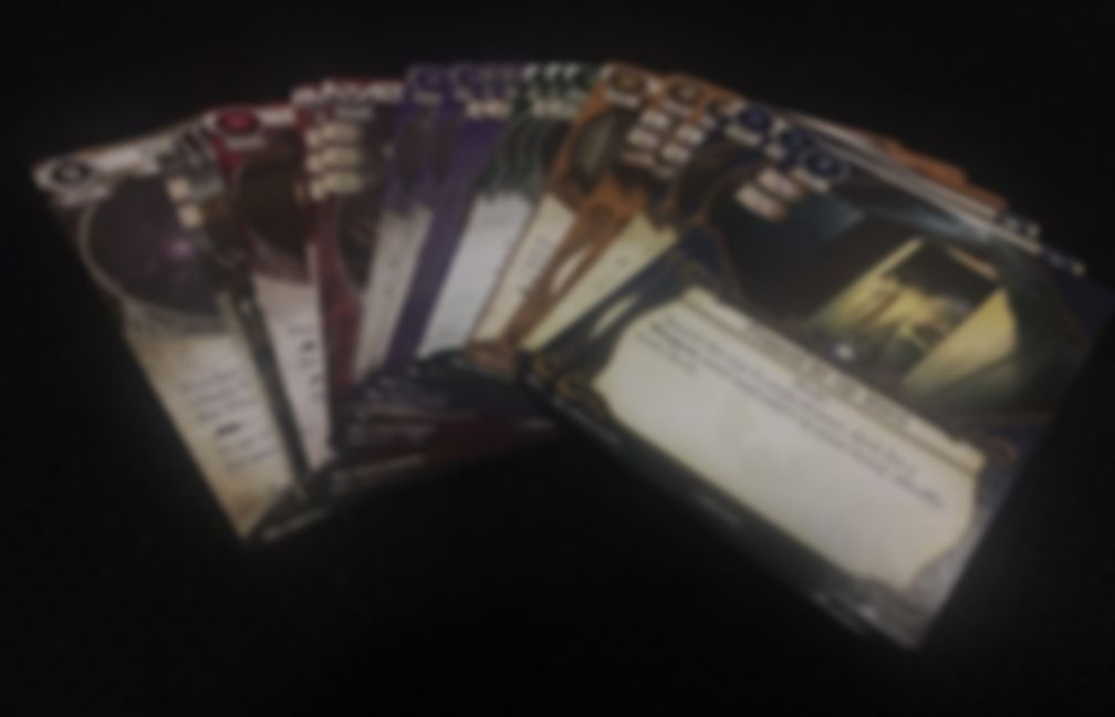 Arkham Horror: The Card Game - Blood on the Altar - Mythos Pack cards