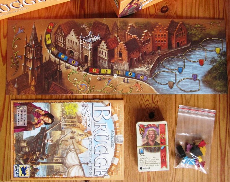Bruges: The City on the Zwin components
