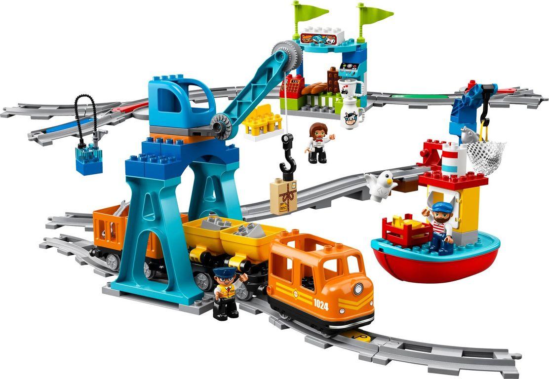 LEGO® DUPLO® Cargo Train gameplay