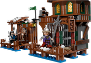 LEGO® The Hobbit Lake-town chase gameplay