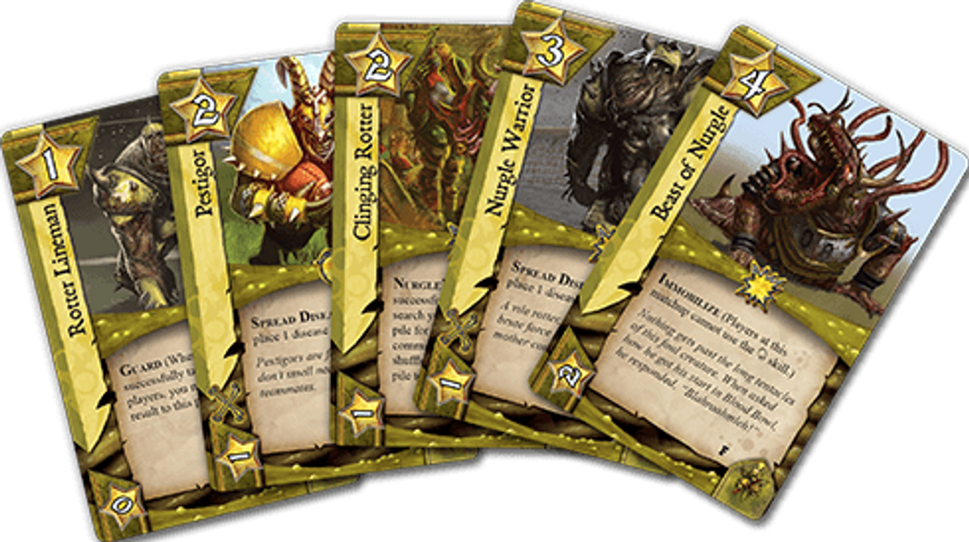 Blood Bowl: Team Manager - The Card Game - Foul Play cards