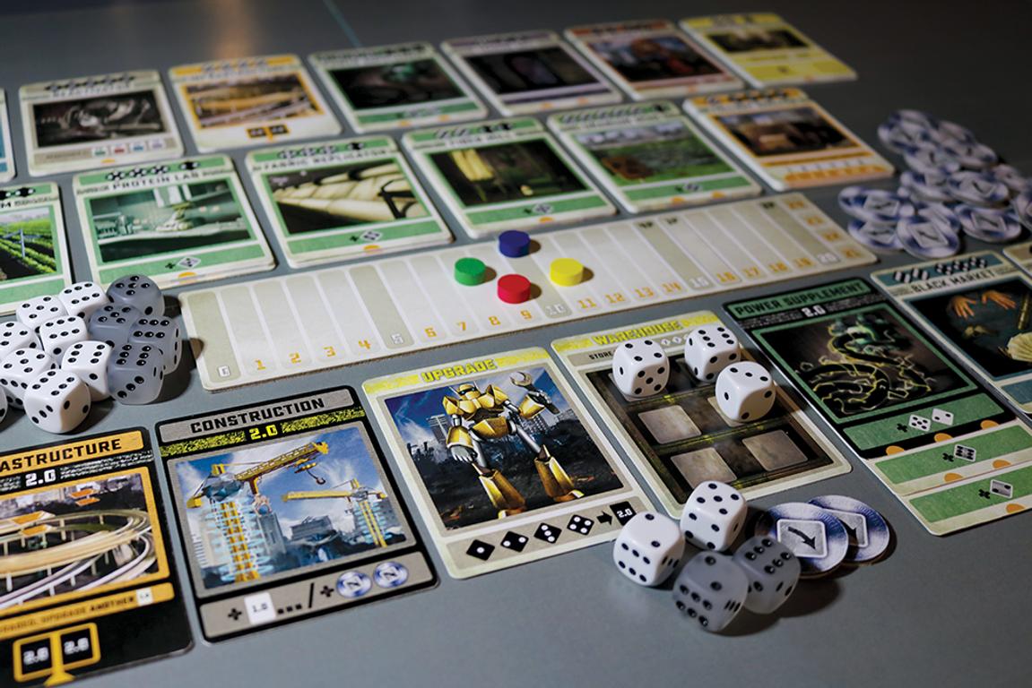 Colony gameplay