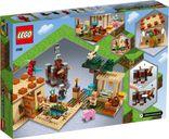 LEGO® Minecraft The Illager Raid back of the box
