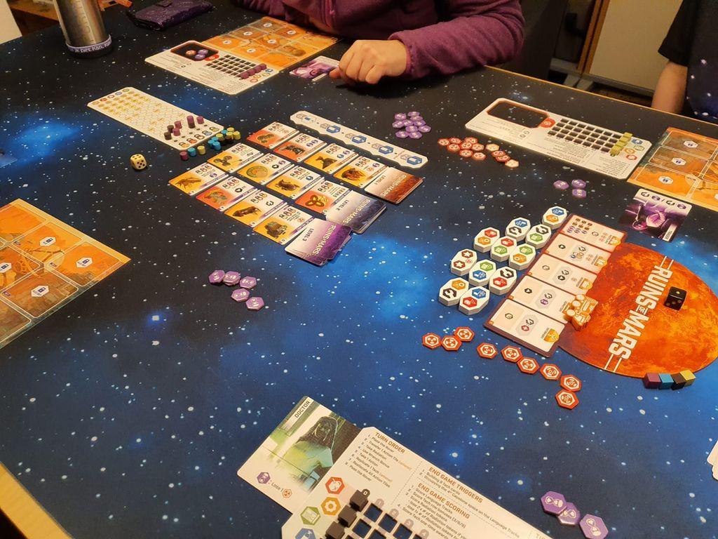 Ruins of Mars components