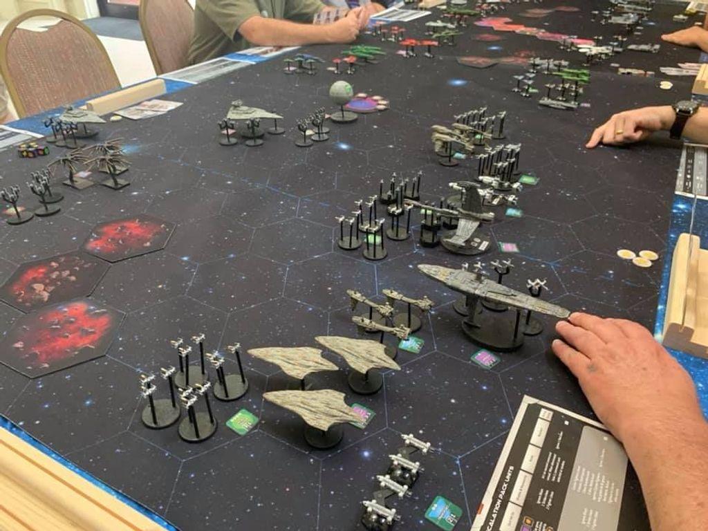 Red Alert: Space Fleet Warfare gameplay