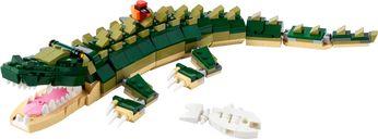 LEGO® Creator Crocodile components
