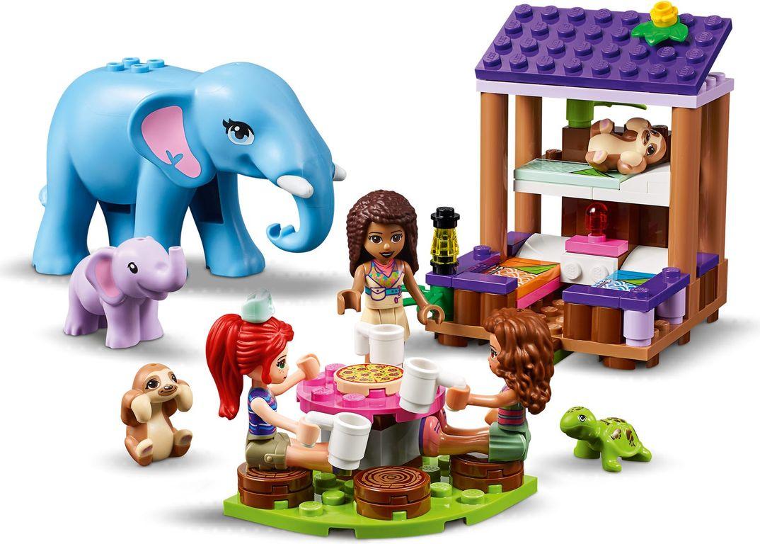 LEGO® Friends Jungle Rescue Base components