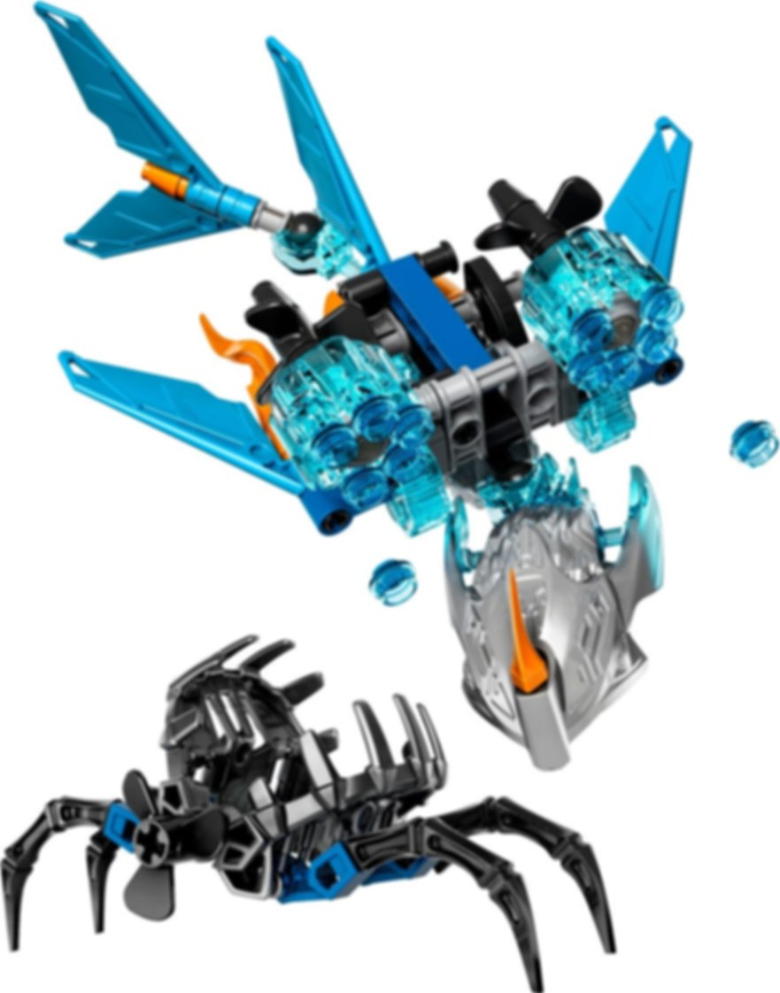 LEGO® Bionicle Akida Creature of Water components
