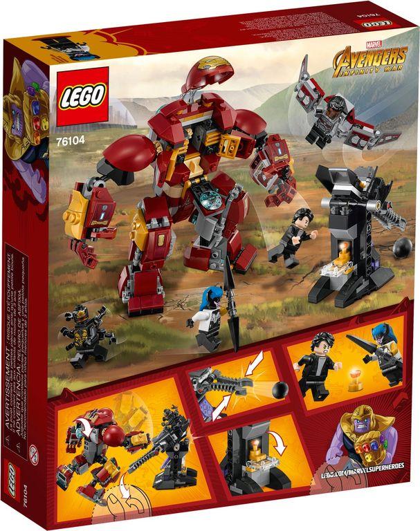 LEGO® Marvel The Hulkbuster Smash-Up back of the box