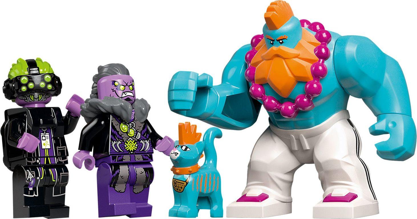 LEGO® Monkie Kid Sandy's Power Loader Mech minifigures