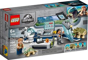 LEGO® Jurassic World Dr. Wu's Lab: Baby Dinosaurs Breakout​