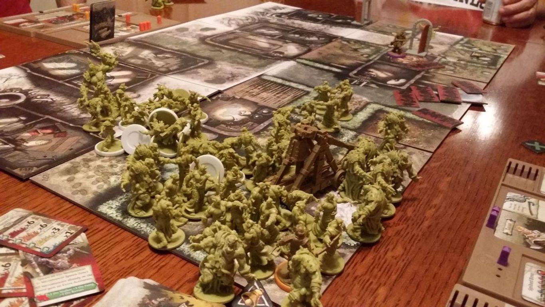 Zombicide: Green Horde gameplay