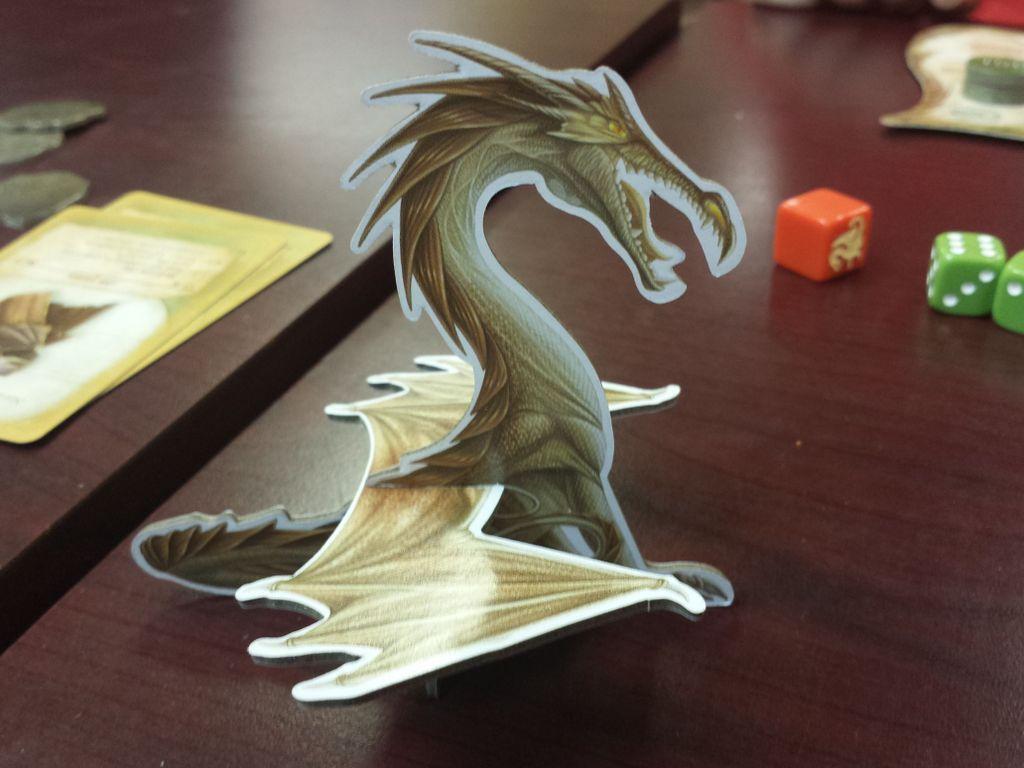 Dragon Farkle draak