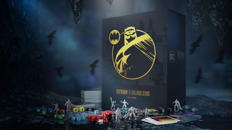 Batman: The Dark Knight Returns Board Game components