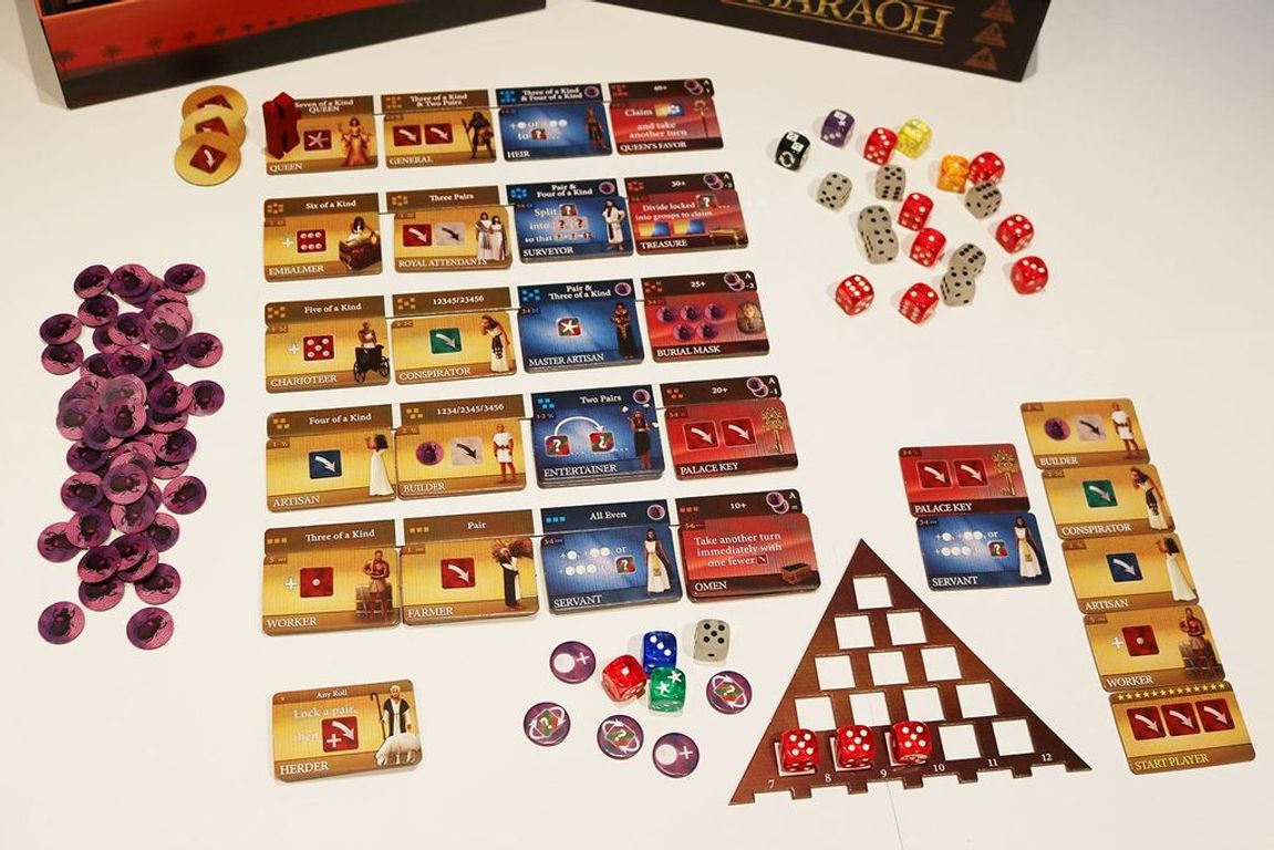Favor of the Pharaoh components